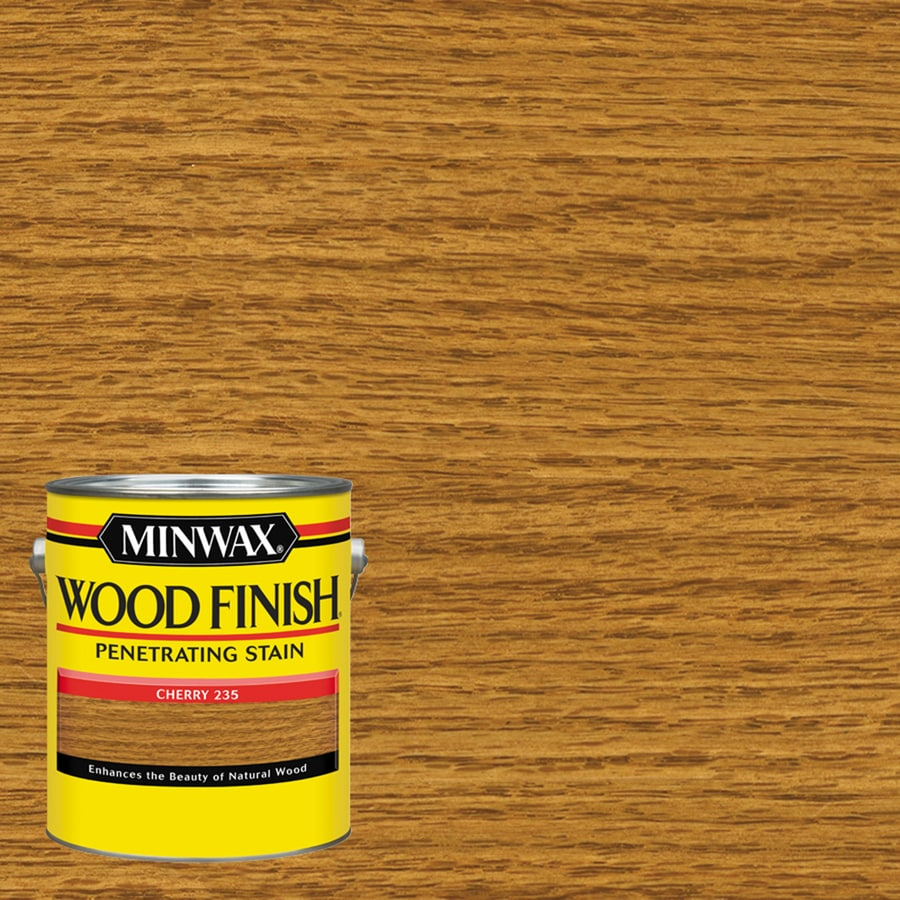 Minwax Cherry Interior Stain (Actual Net Contents: 128-fl oz)