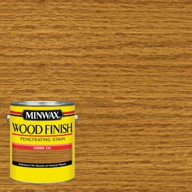 Minwax Wood Finish Satin Cherry Oil-based Interior Stain (Actual Net Contents: 128-fl oz)