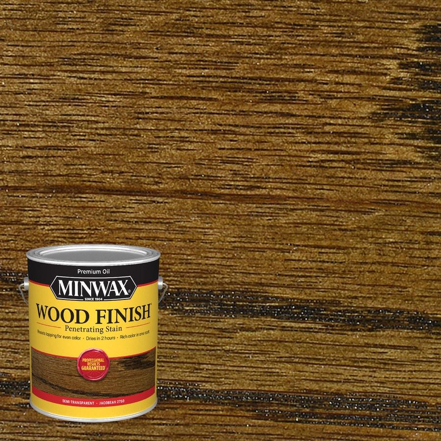 Shop Minwax Wood Finish Jacobean Actual Net Contents 128
