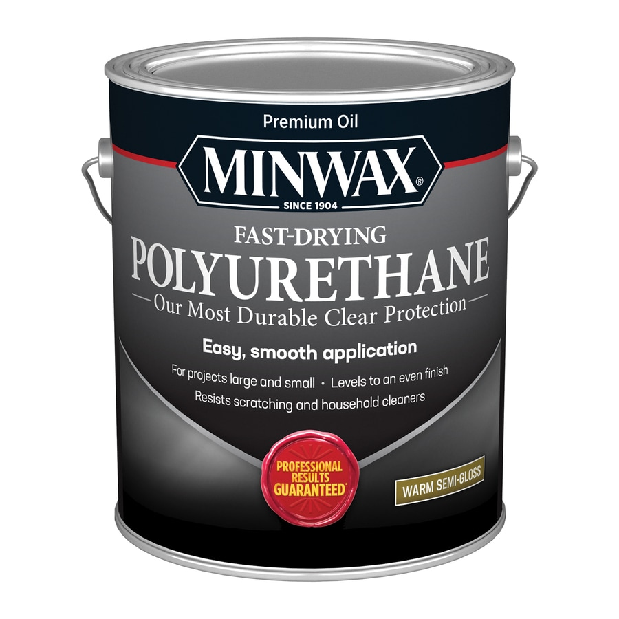 Minwax Semi-Gloss Oil-Based 128-fl oz Polyurethane