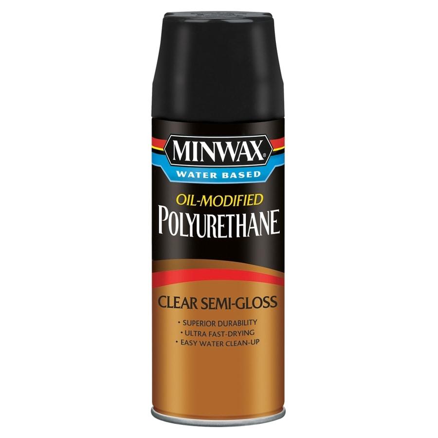 Shop minwax semi gloss oil modified 11 5 fl oz for Minwax polyurethane