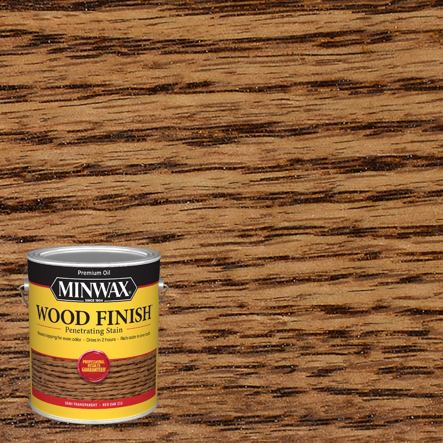 Minwax Pre-Tinted Red Oak Interior Stain (Actual Net Contents: 128-fl oz)