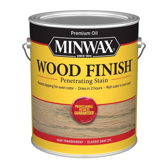 Minwax Wood Finish Oil Based Stain Classic Gray Oil Based