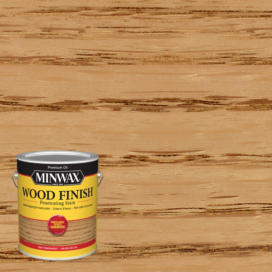 Minwax Pre-Tinted Golden Oak Interior Stain (Actual Net Contents: 128-fl oz)