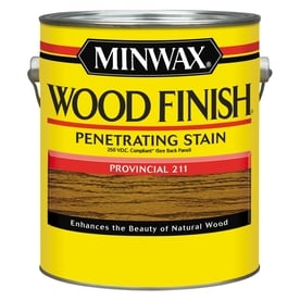 Minwax Wood Finish Provincial Oil Based Interior Stain Actual Net Contents 128
