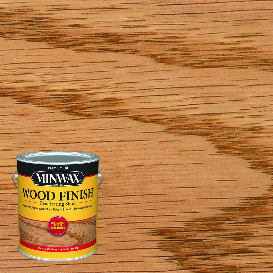 Minwax Pre-Tinted Ipswich Pine Interior Stain (Actual Net Contents: 128-fl oz)