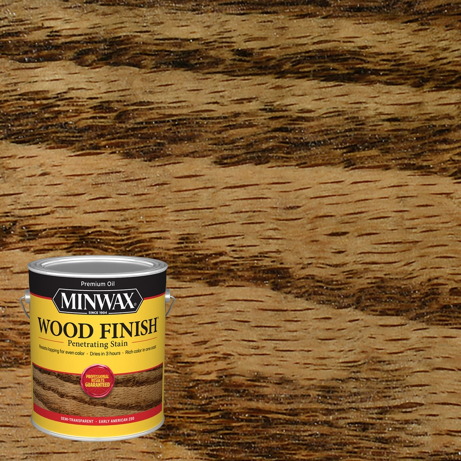Minwax Pre-Tinted Early American Interior Stain (Actual Net Contents: 128-fl oz)