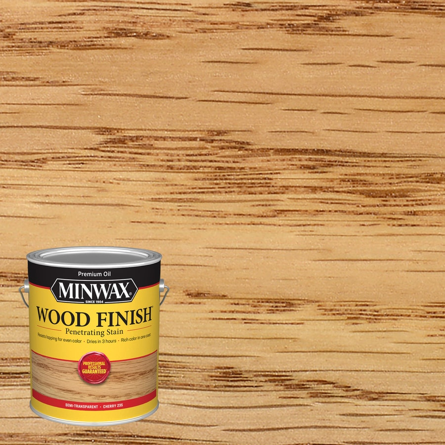 Minwax Wood Finish Cherry Oil Based Interior Stain Actual