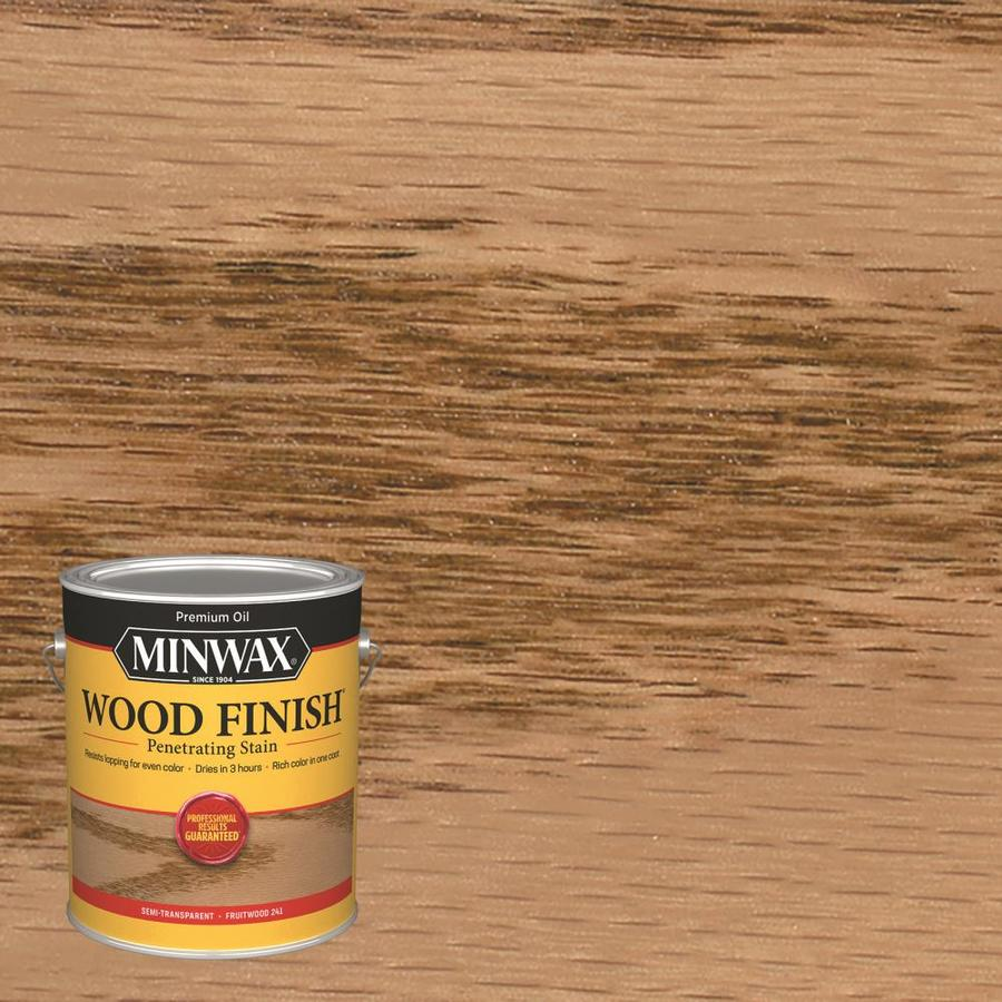 Minwax Pre-Tinted Fruitwood Interior Stain (Actual Net Contents: 128-fl oz)