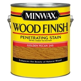 Minwax Wood Finish Golden Pecan Oil Based Interior Stain Actual Net Contents 128