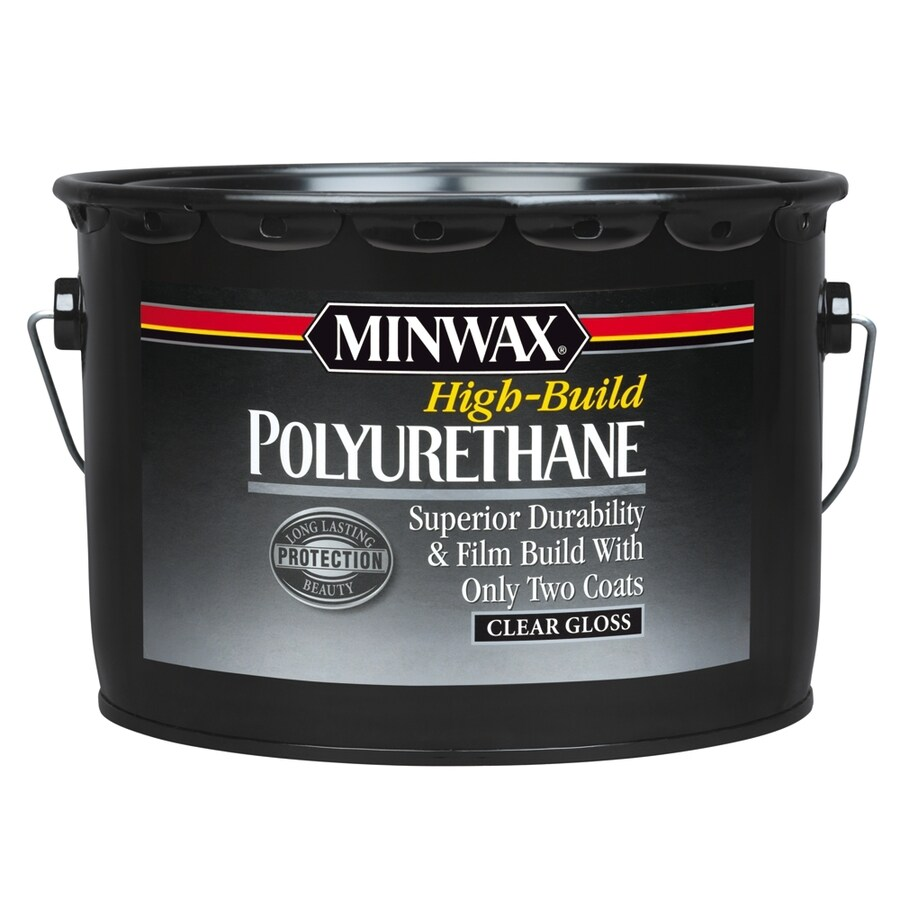 Water Based Polyurethane For Floors Lowes: Minwax Gloss Oil-Based 320-fl Oz Polyurethane At Lowes.com