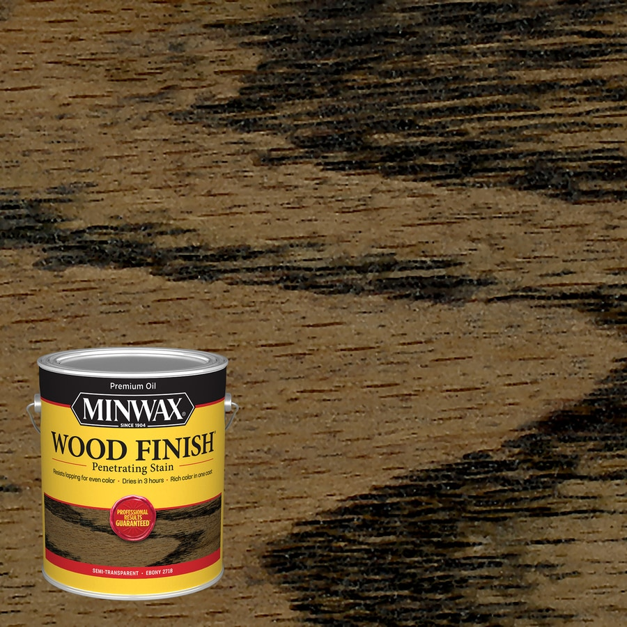 Minwax Pre-Tinted Ebony Interior Stain (Actual Net Contents: 128-fl oz)