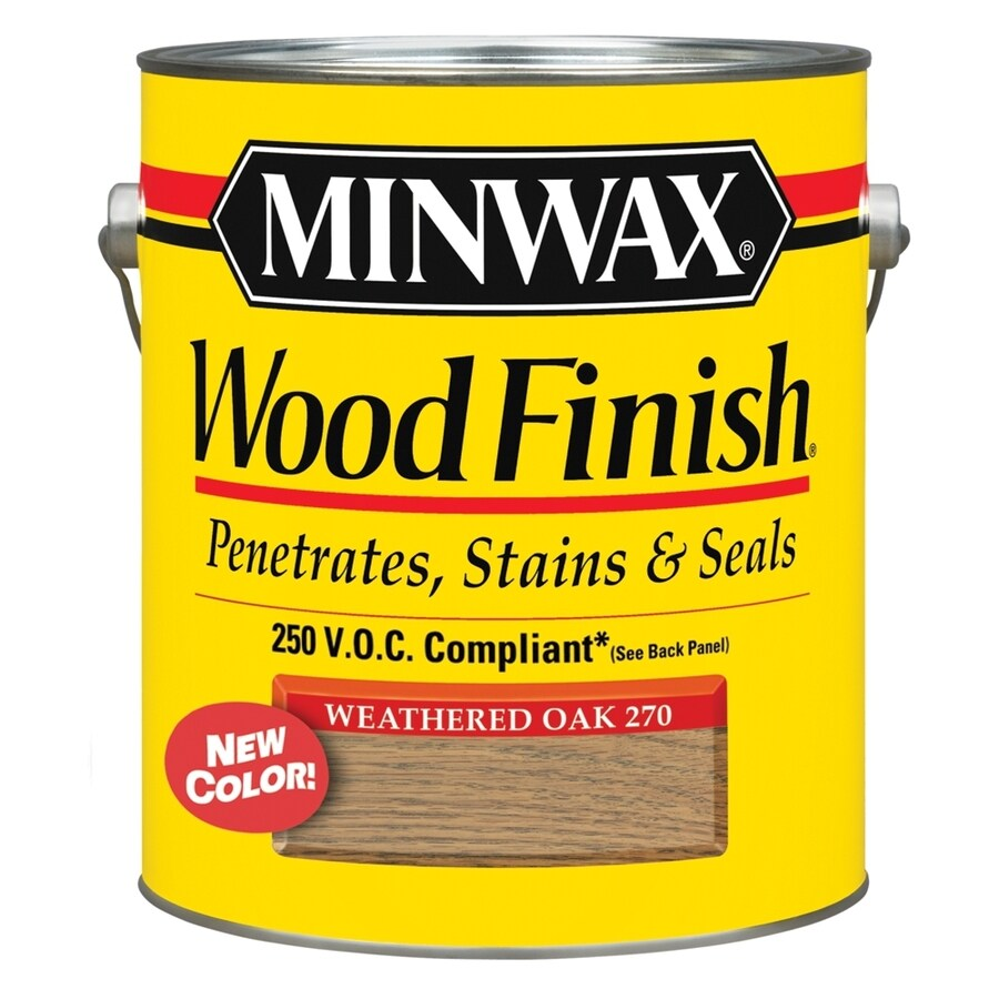 Minwax Pre-Tinted Weathered Oak Interior Stain (Actual Net Contents: 128-fl oz)