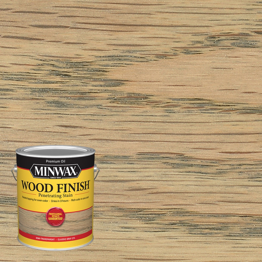 Minwax Wood Finish Classic Gray Interior Stain (Actual Net Contents: 128-fl oz)
