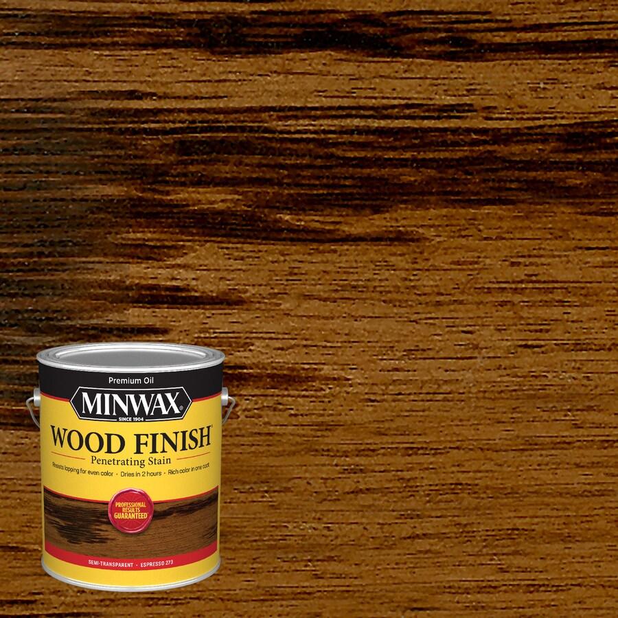 Minwax Espresso Interior Stain (Actual Net Contents: 128-fl oz)