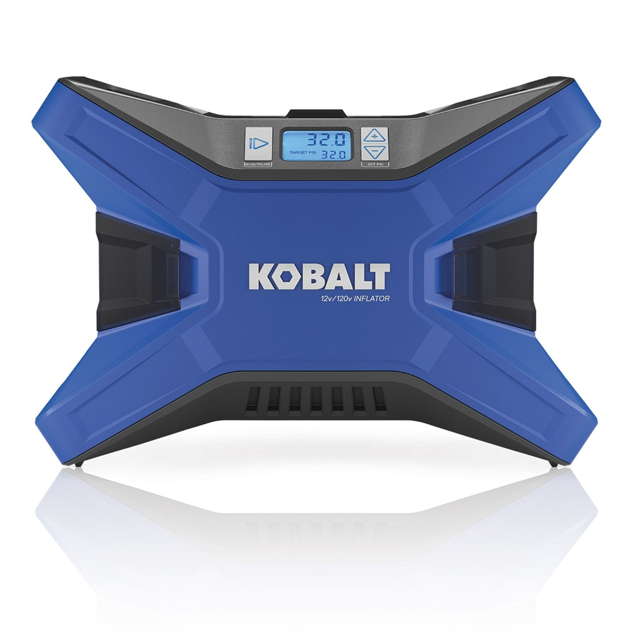 Kobalt 12 Volt And 120 Volt Ac Voltage Air Inflator Power Source