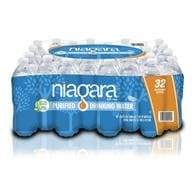 Lowes.com deals on Niagara 32-Pack 16.9-fl oz Purified 027541009095