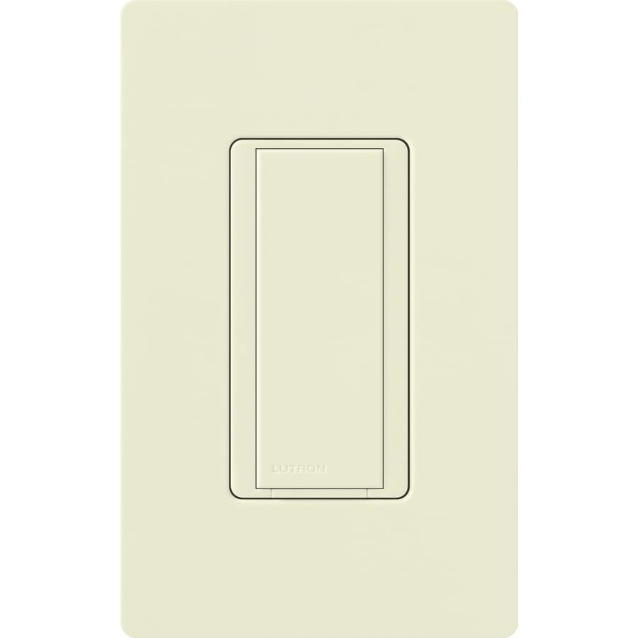 Lutron Maestro  8-amp Single Pole Biscuit Push Indoor Light Switch
