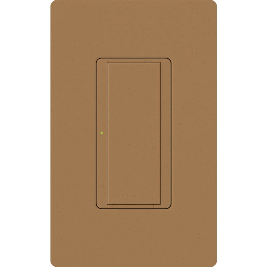 Lutron Maestro 8-Amp Single Pole 3-Way Terracotta Push Indoor Light Switch