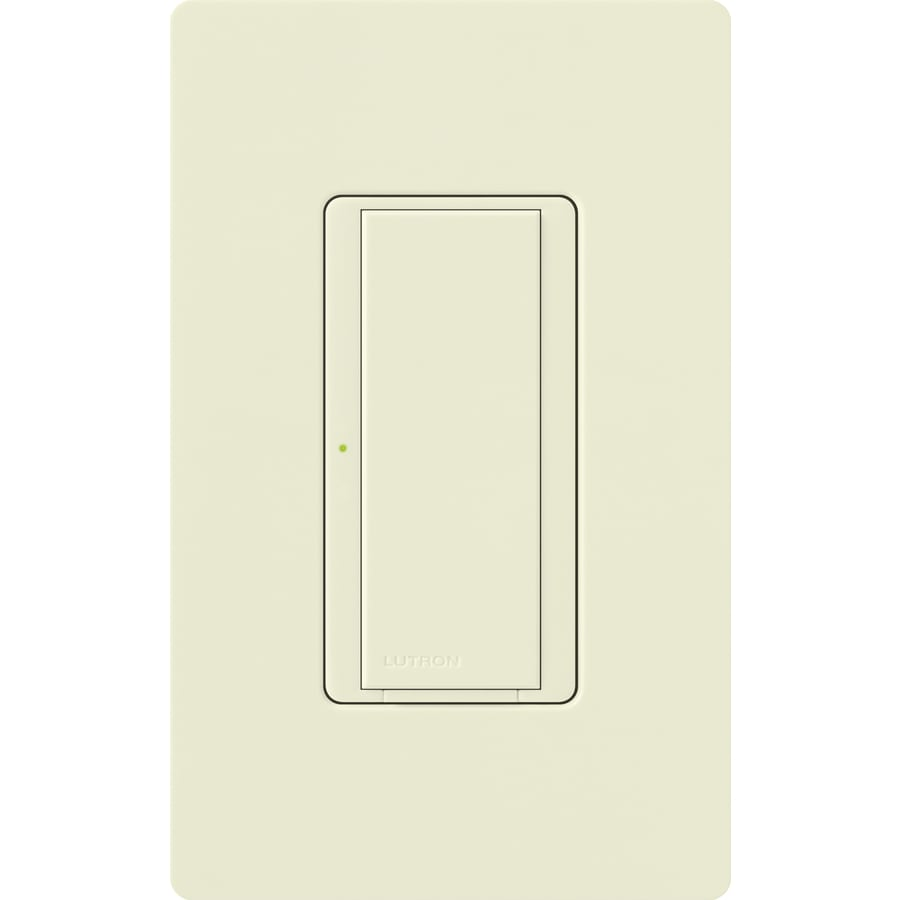 Lutron Maestro 8-Amp Single Pole 3-Way Biscuit Indoor Push Light Switch