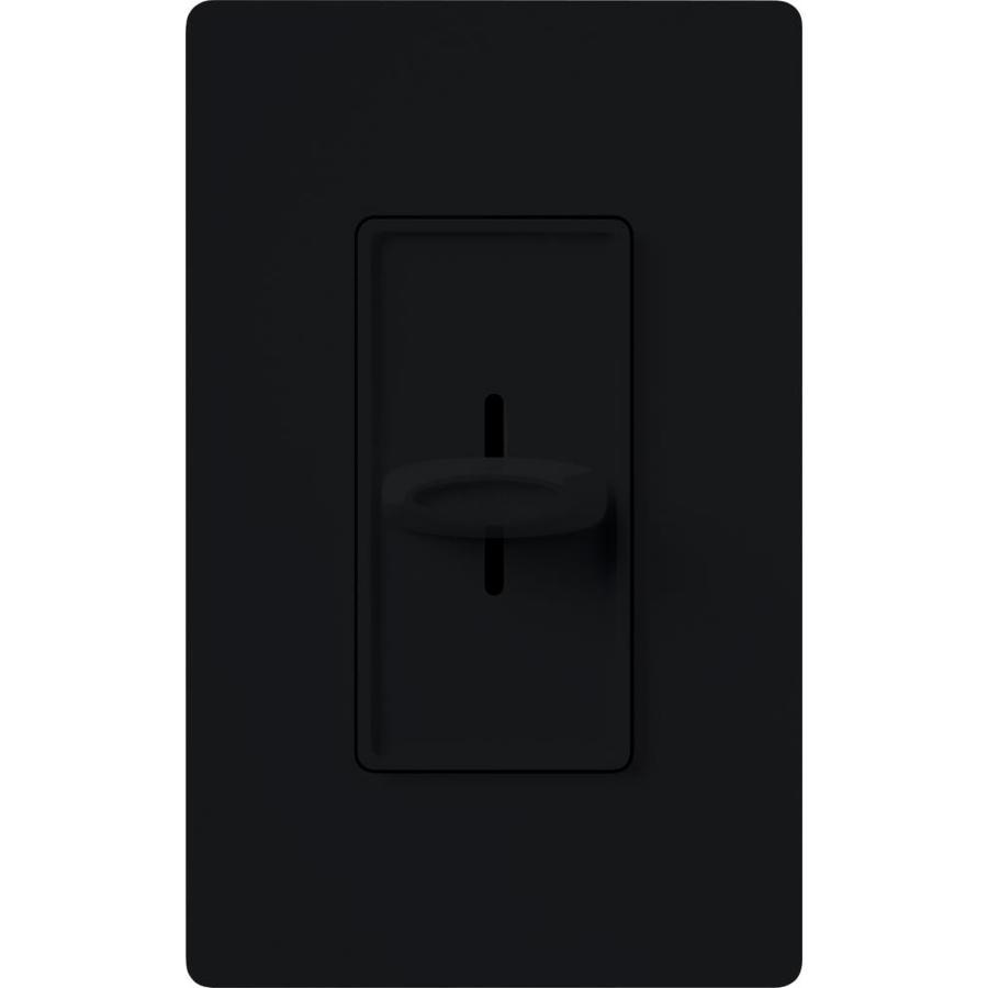 Lutron Skylark Fully Variable 2-Amp Black Indoor Slide Fan Control