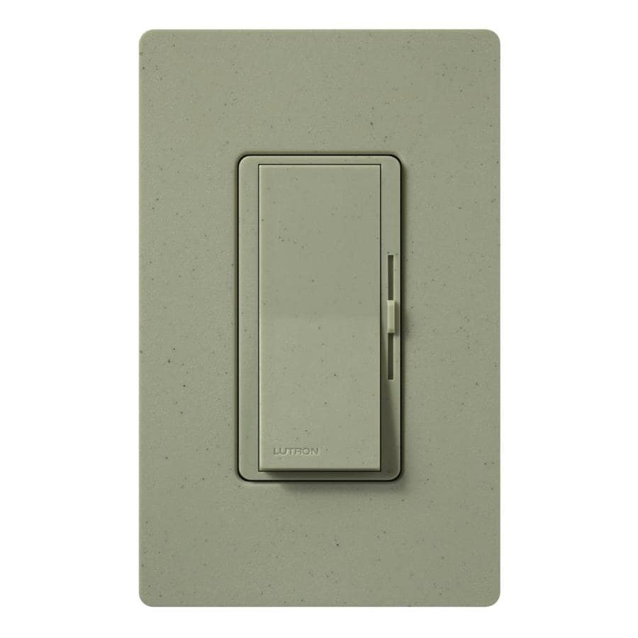 Lutron Diva 600-watt Single Pole 3-way Greenbriar  Indoor Dimmer