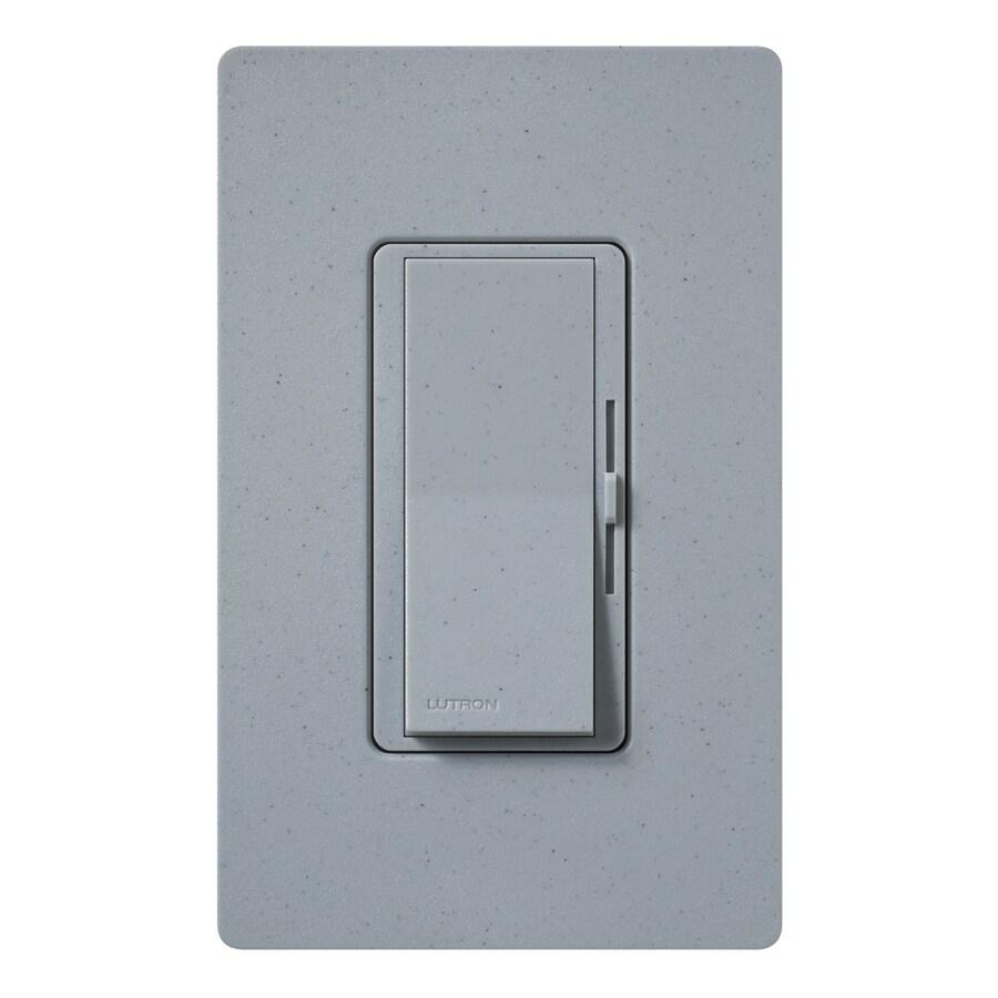 Lutron Diva 1000-Watt Single Pole Bluestone Indoor Dimmer