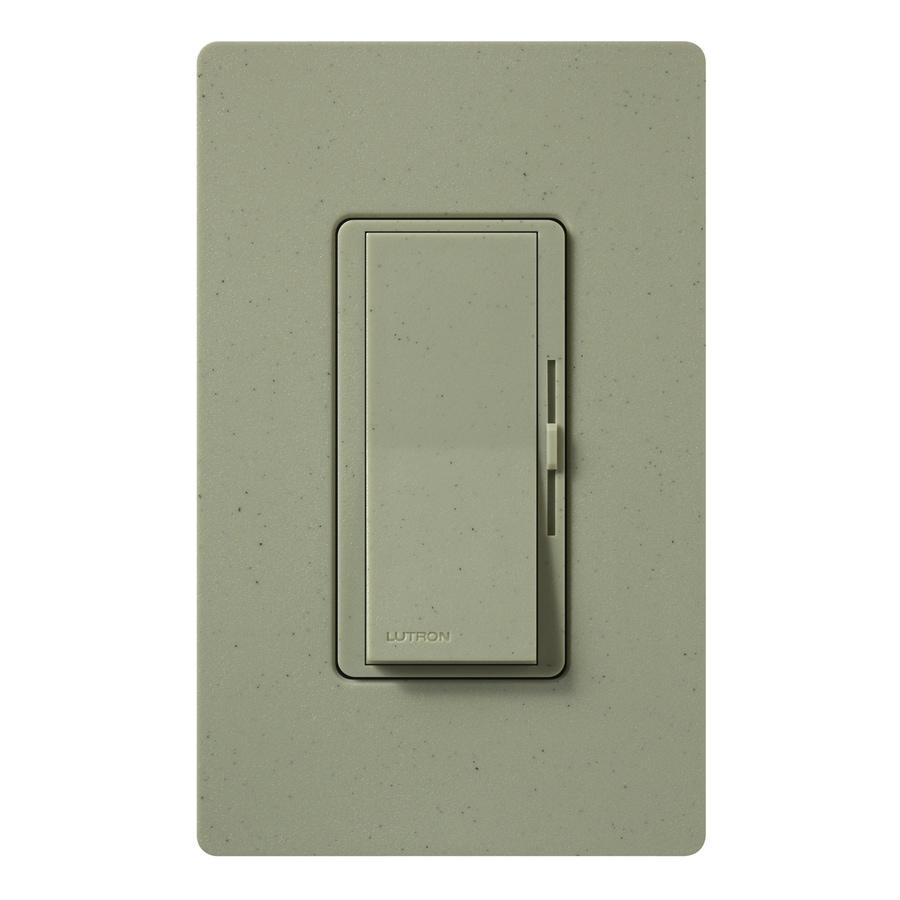 Lutron Diva 1,000-Watt Single Pole 3-Way Greenbriar Indoor Dimmer