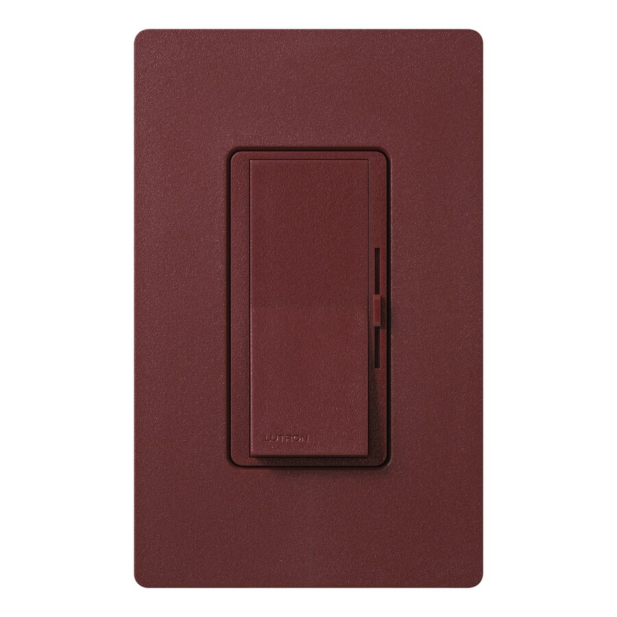 Lutron Diva 300-Watt Single Pole Merlot Indoor Dimmer