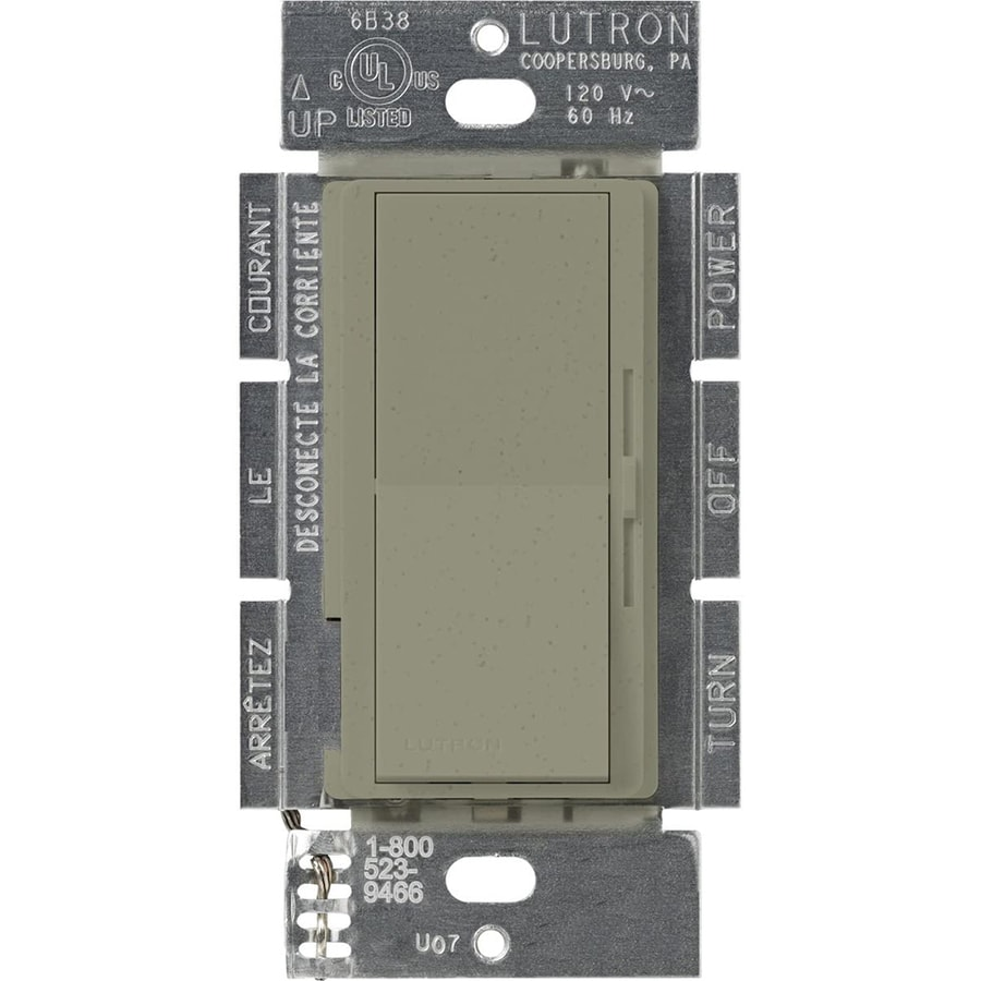 Lutron Diva 300-Watt Single Pole 3-Way Greenbriar Indoor Dimmer