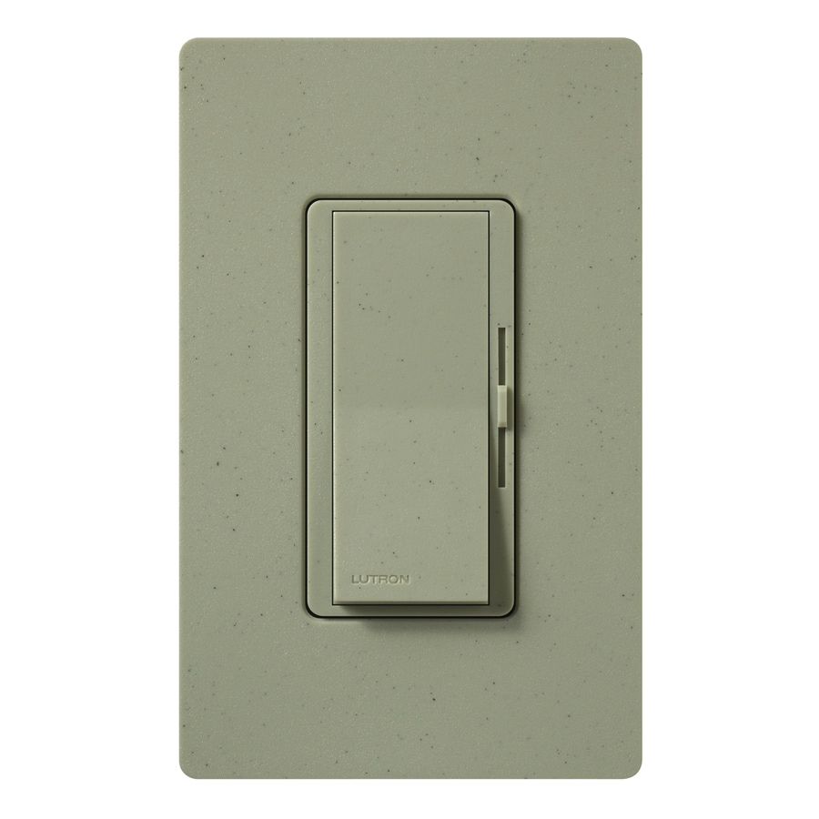 Lutron Diva 800-Watt Single Pole 3-Way Greenbriar Indoor Dimmer