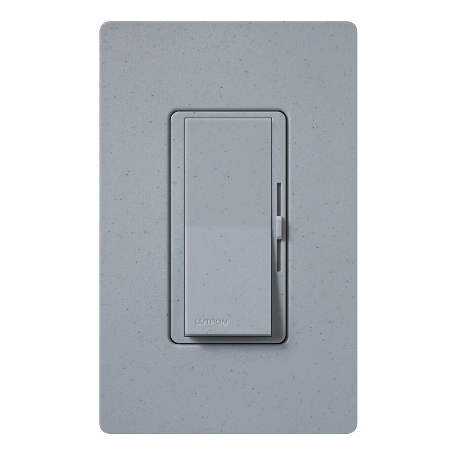 Lutron Diva 800-Watt Single Pole 3-Way Bluestone Indoor Dimmer