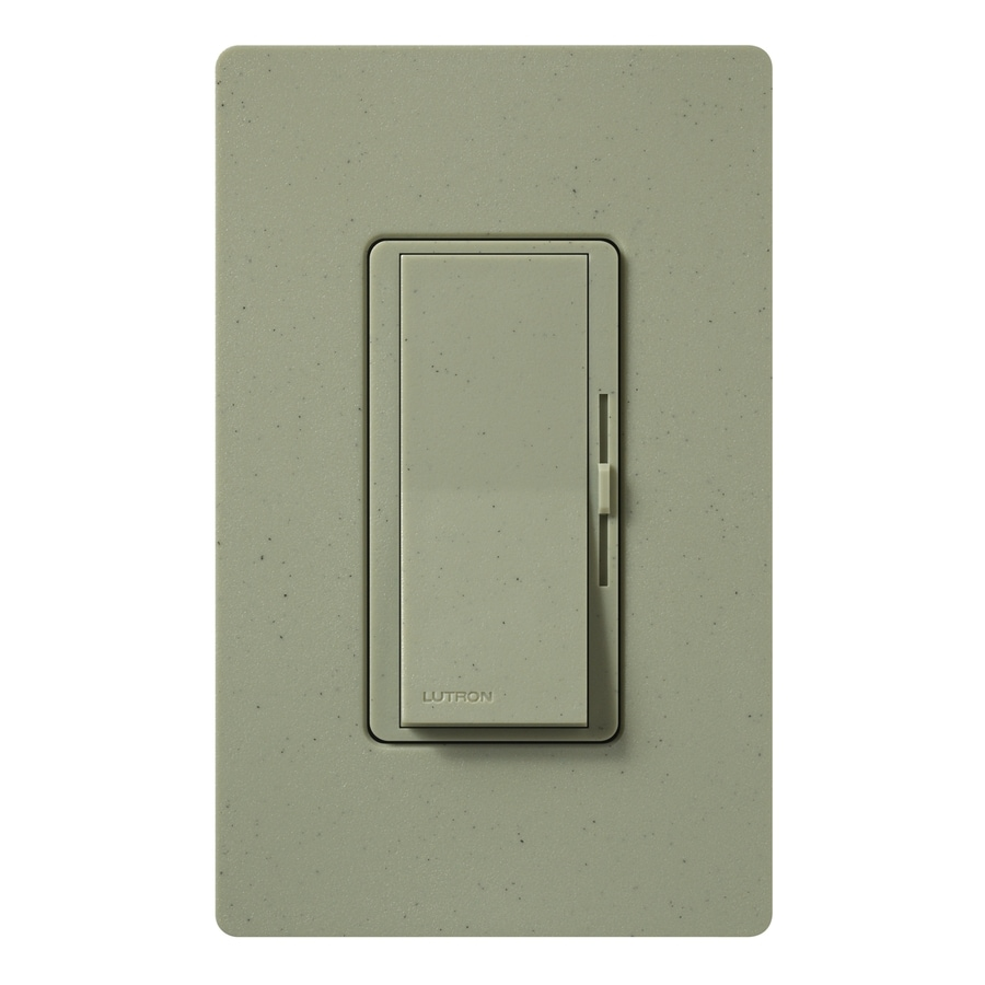 Lutron Diva 800-Watt Single Pole Greenbriar Indoor Dimmer