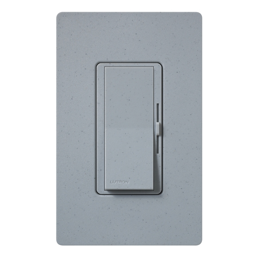 Lutron Diva 800-Watt Single Pole Bluestone Indoor Dimmer