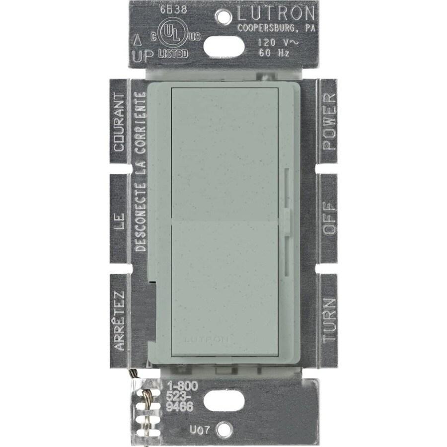 Lutron Diva 450-Watt Single Pole 3-Way Bluestone Indoor Dimmer