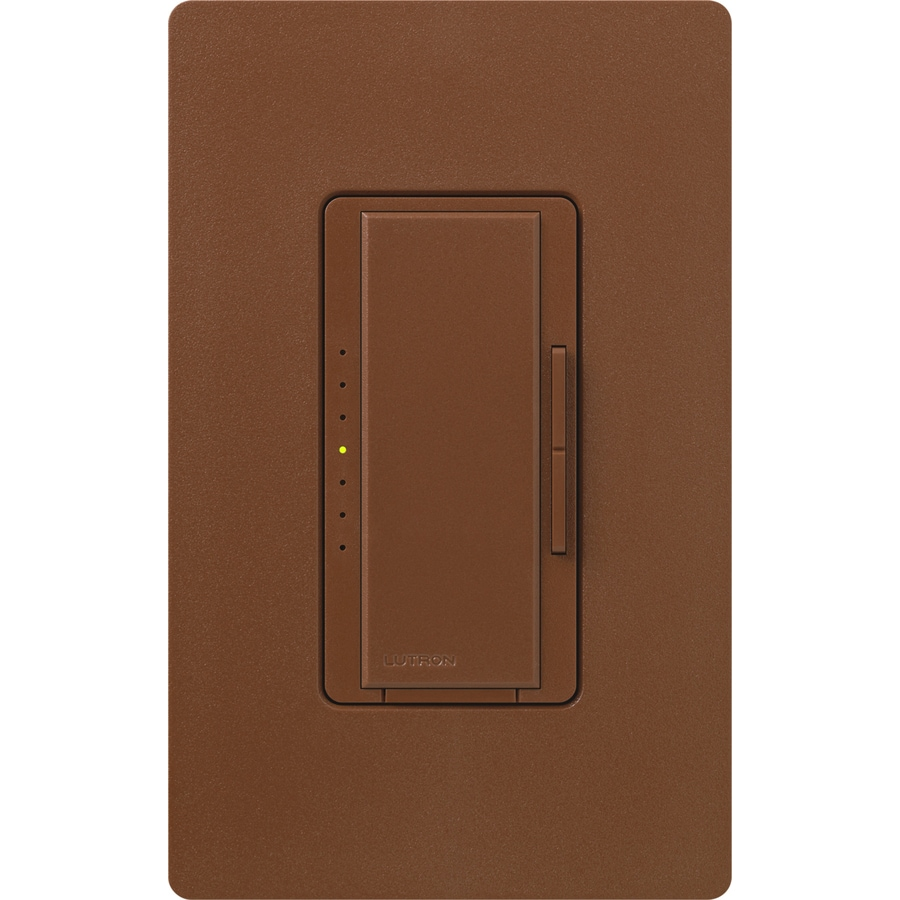 Lutron Maestro 1000-Watt Single Pole Sienna Touch Indoor Dimmer