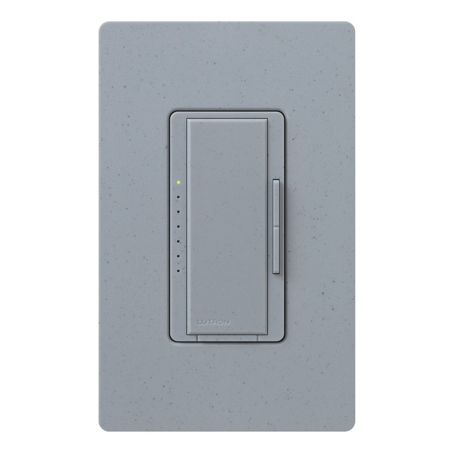 Lutron Maestro 600-Watt Single Pole Bluestone Indoor Touch Dimmer
