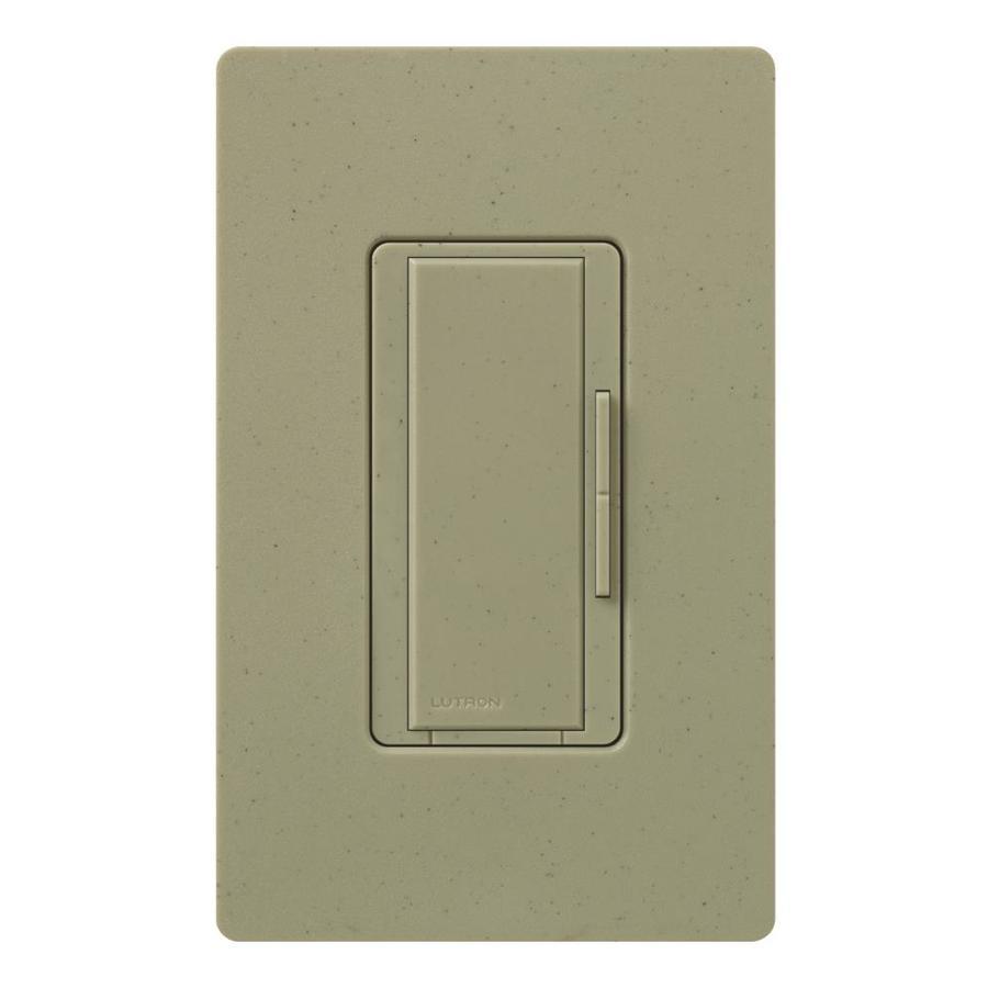 Lutron Maestro 1,000-Watt 3-Way/4-Way Greenbriar Indoor Tap Dimmer