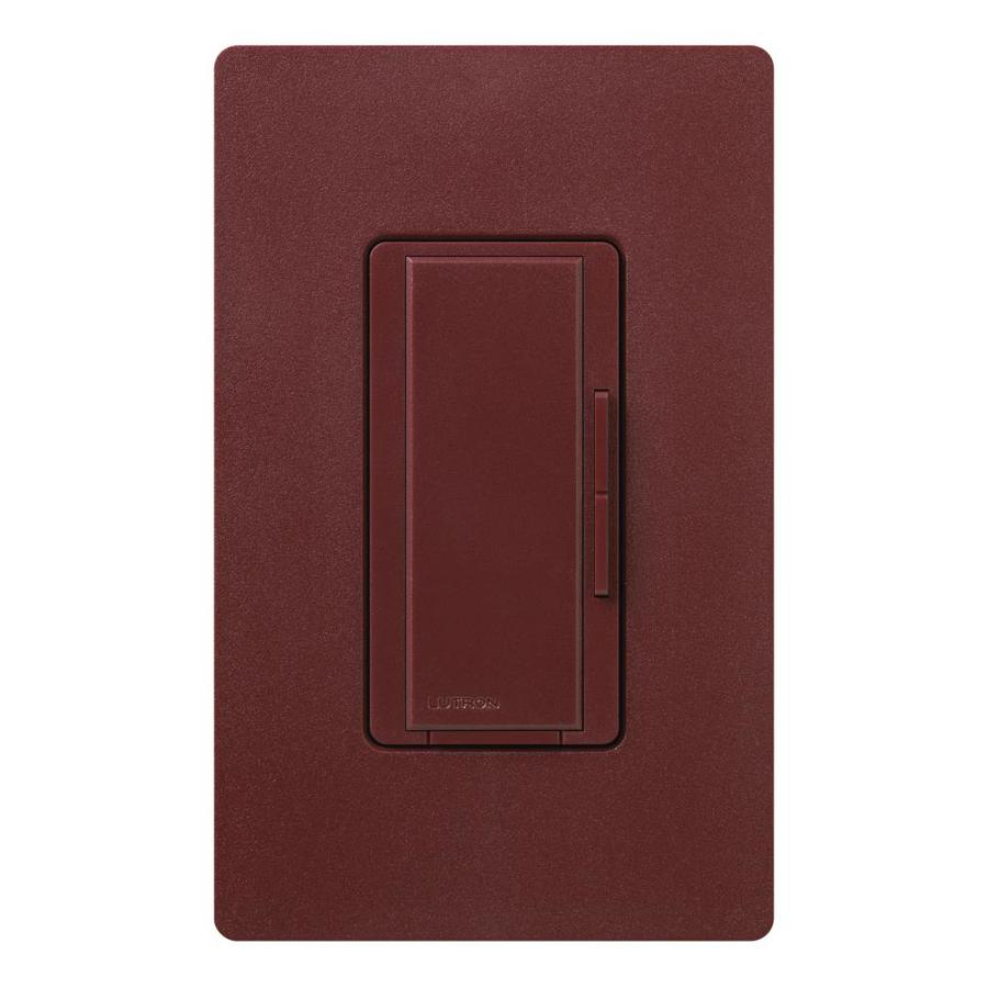 Lutron Maestro 1000-Watt 3-Way/4-Way Merlot Tap Indoor Dimmer