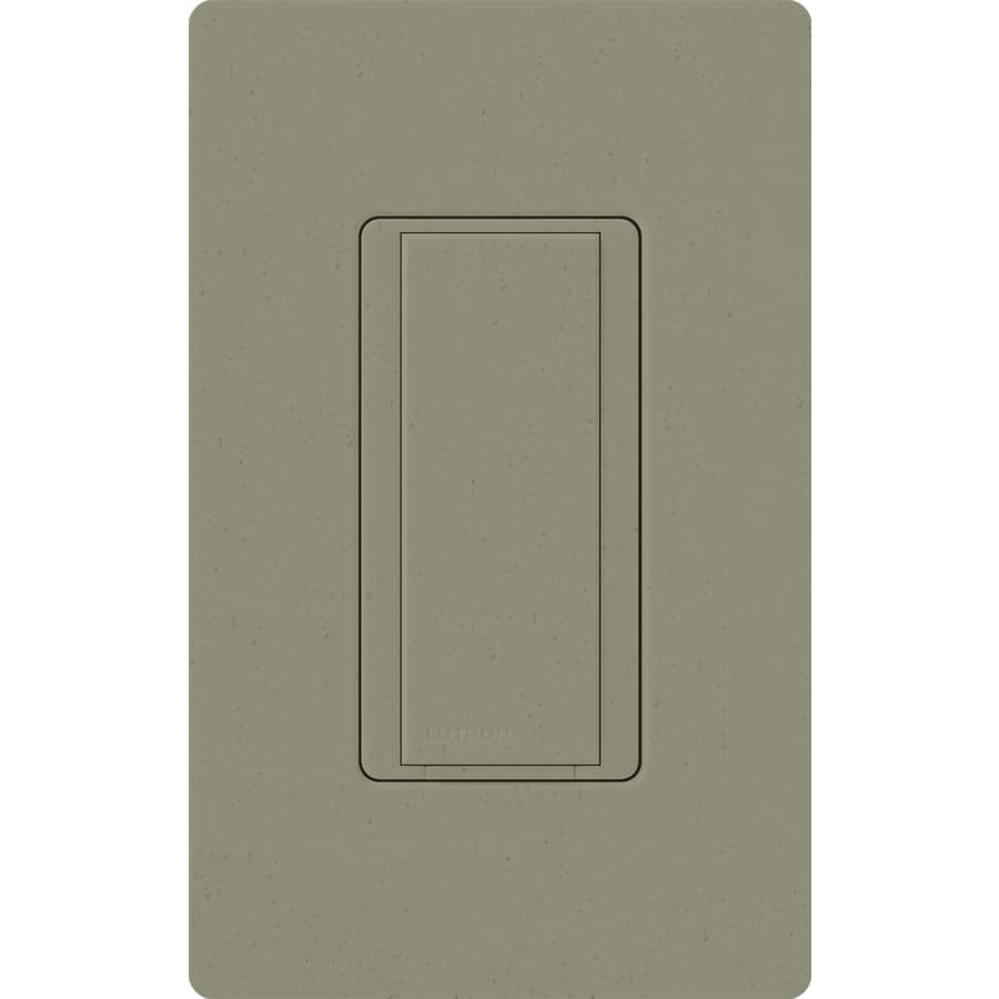 Lutron Maestro 8-Amp Single Pole 3-Way Greenbriar Push Indoor Light Switch
