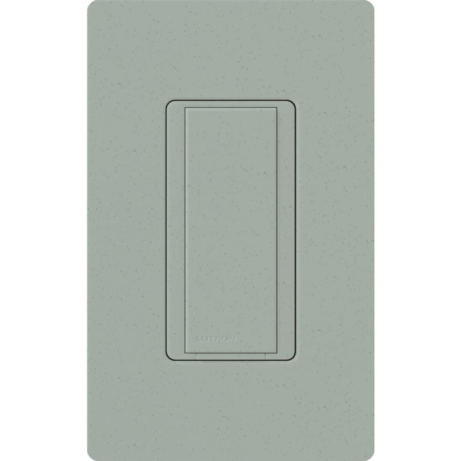 Lutron Maestro 8-amp Single Pole 3-way Bluestone Push Indoor Light Switch