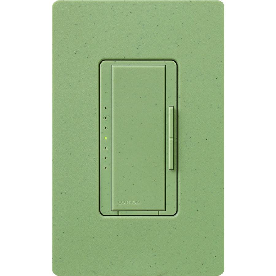 Lutron Maestro 600-watt Single Pole Greenbriar Touch Indoor Dimmer