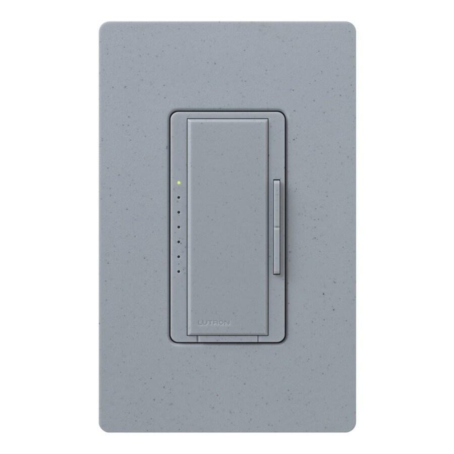 Lutron Maestro 600-Watt Single Pole Bluestone Indoor Touch Dimmer