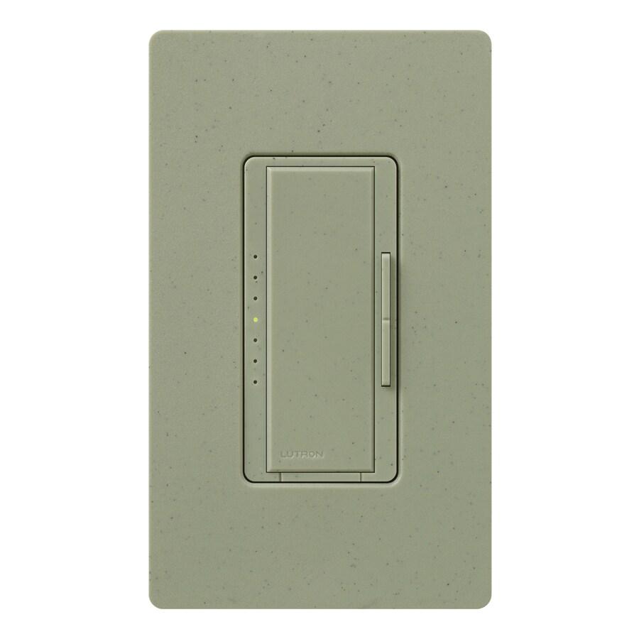 Lutron Maestro 800-Watt Single Pole Greenbriar Indoor Touch Dimmer