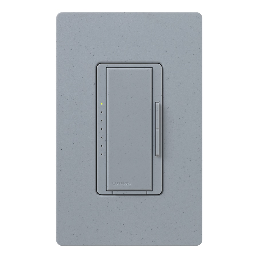 Lutron Maestro 800-Watt Single Pole Bluestone Touch Indoor Dimmer