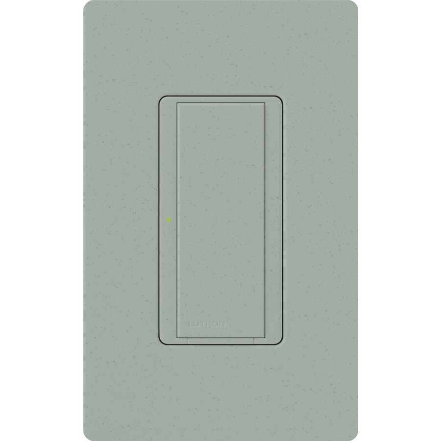 Lutron Maestro 8-Amp Single Pole 3-Way Bluestone Indoor Push Light Switch