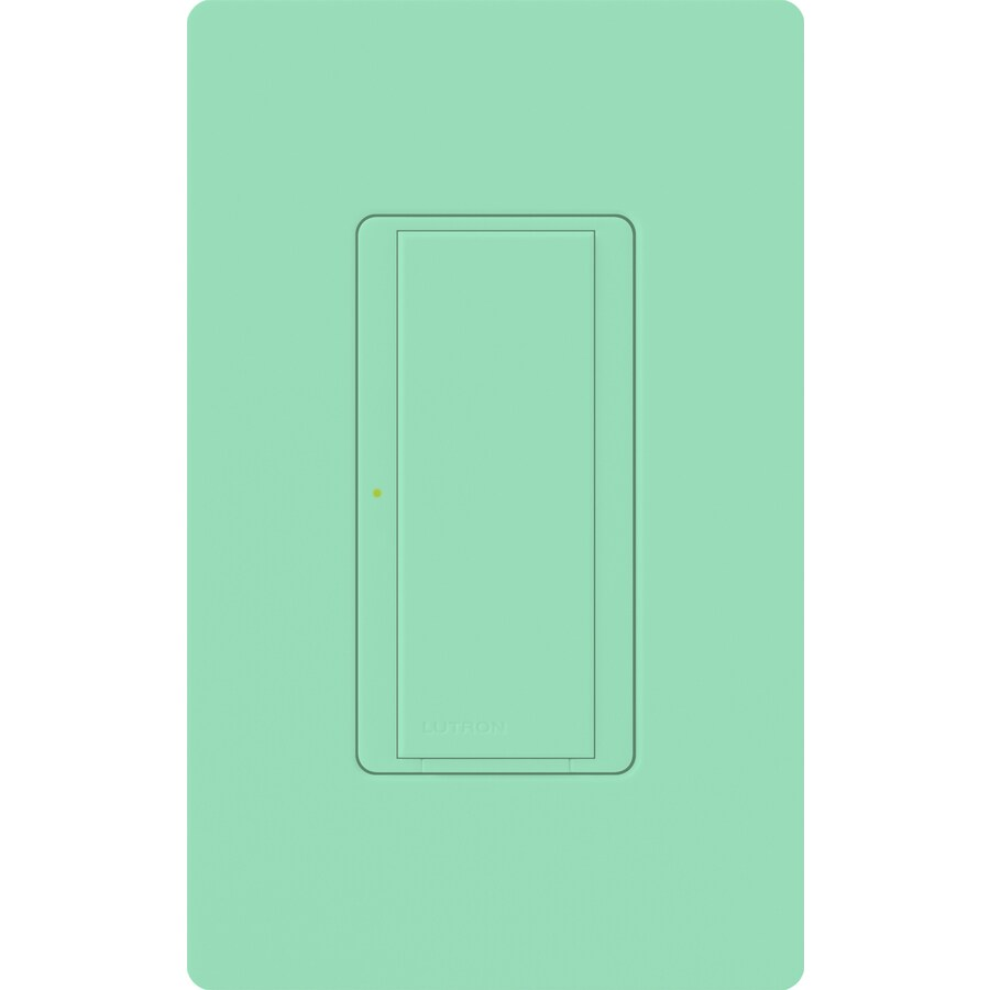 Lutron Maestro 8-Amp Single Pole 3-Way Sea Glass Indoor Push Light Switch