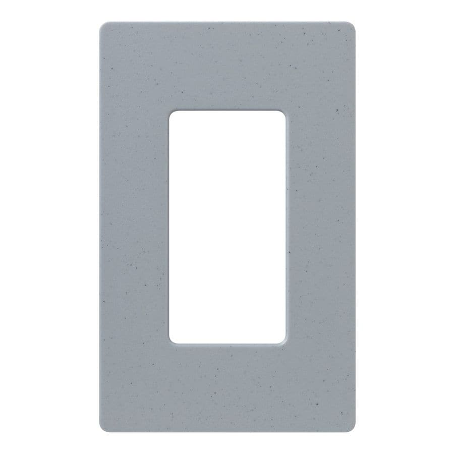 Lutron Claro 1-Gang Bluestone Single Decorator Wall Plate