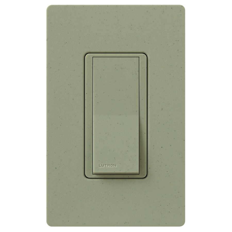 Lutron Claro 15-Amp Double Pole 3-Way Greenbriar Indoor Push Light Switch