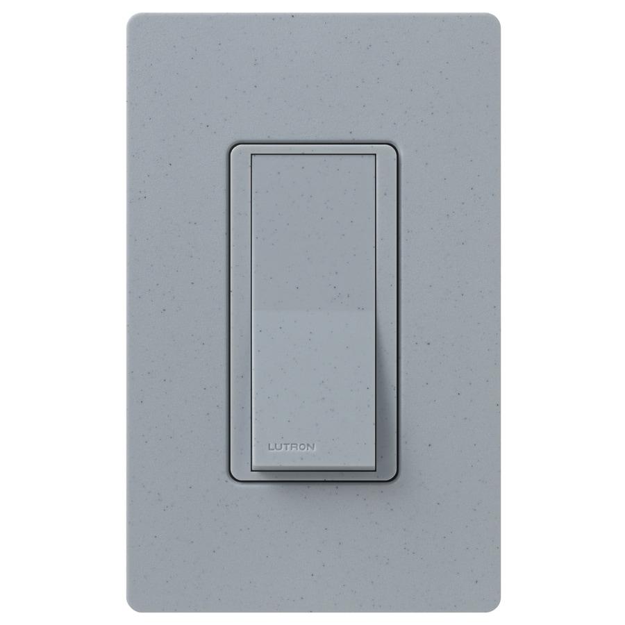 Lutron Claro  15-amp Double Pole 3-way Bluestone Push Indoor Light Switch